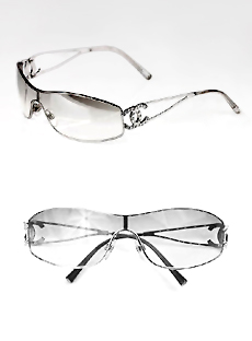 3c0a7e2076e8 CHANEL 4073B Silver Sunglasses $465 / Our Price $198 Sold202